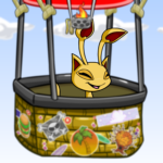 Hot Air Balloon Adventure Background