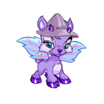 Purple Ixi Rain Hat