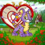 Valentine Arrow Background