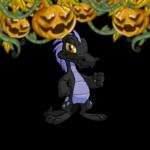 Creepy Glowing Jack-O-Lantern Garland