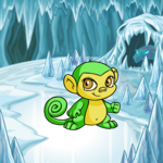 Ice Caves Background