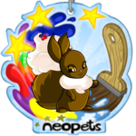 Commemorative Neopets Plush Tag