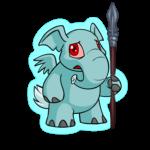 Combatant Elephante Spear