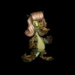 Feline Krawk Wig