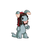 Mysterious Blumaroo Wig