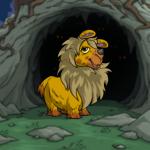 Creepy Cave Background