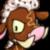 Angry Male Chocolate Moehog