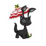 Striped Holiday Parasol
