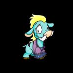 Purple Moehog Top