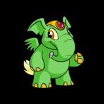 green elephante