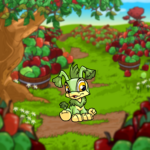 Piles of Apples Background