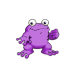 purple quiggle