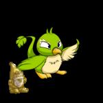 Golden Undead Lawn Gnome