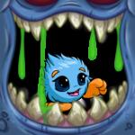 Open Wide Monster Frame