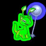 Handheld Moon Balloon