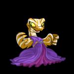 Purple Hissi Dress