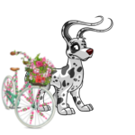 Premium Collectible: Flowering Bicycle