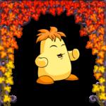 Autumn Ivy Trellis