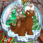 Charming Snowglobe Background