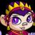 Happy Female Royalgirl Mynci