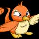 Orange Pteri