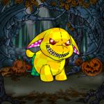 Spooky Pumpkin Patch Background