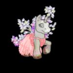 Pastel Rose Tulle Dress