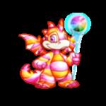 Crystallized Rainbow Staff