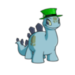 Sparkling Green Top Hat