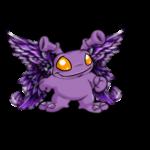 Dyeworks Purple: Jewelled Silver Wings