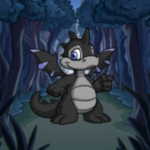 Dusky Forest Path Background