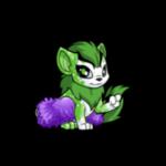 Fluffy Purple Tutu and Tights