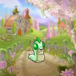 Spring Farmhouse Background