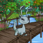 Bridge to the Orchard Background