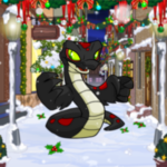 Winter Wonderland Alley Background