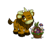 Country Kau Flower Basket