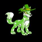 Fancy Green Hat
