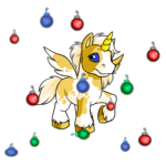 Colourful Ornament Shower