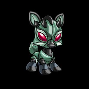 Female Robot Ixi