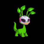 Vibrant Sugar Skull Mask