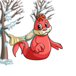 Warm Winter Hammock Background Item