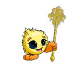 Golden Jewelled Sceptre