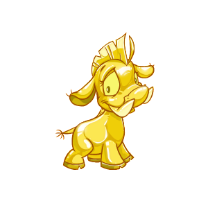 Female Gold Moehog